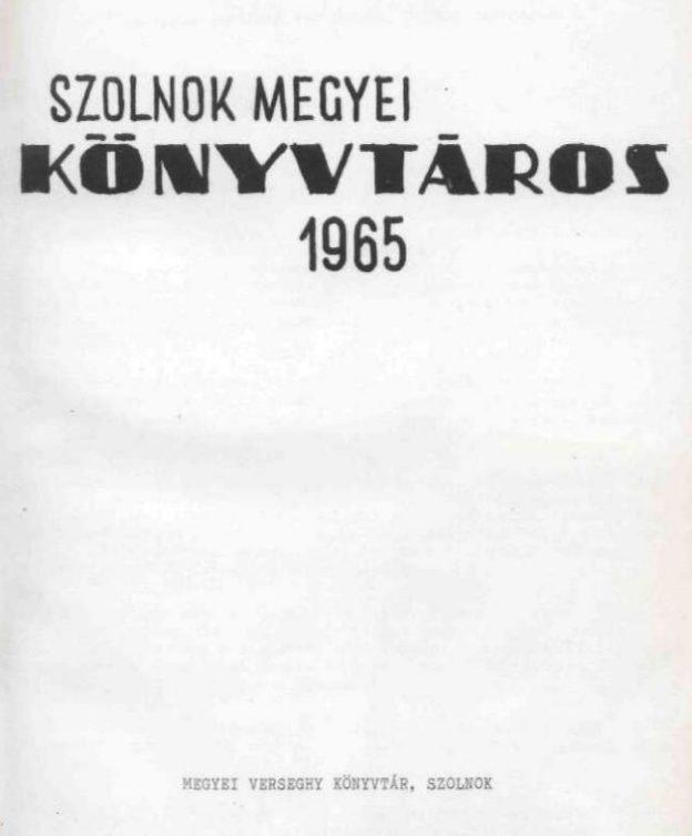 Kunszentmárton | Jász Nagykun Szolnok megyei könyvtári vademecum